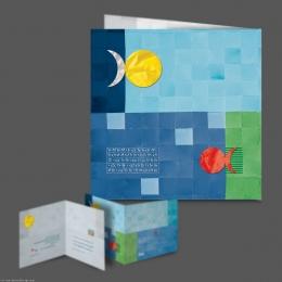 طراحی کارت پستال نوروز شرکت مهراز شرق