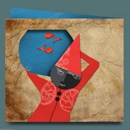 کارت پستال عید نوروز مجتمع کیش مهر